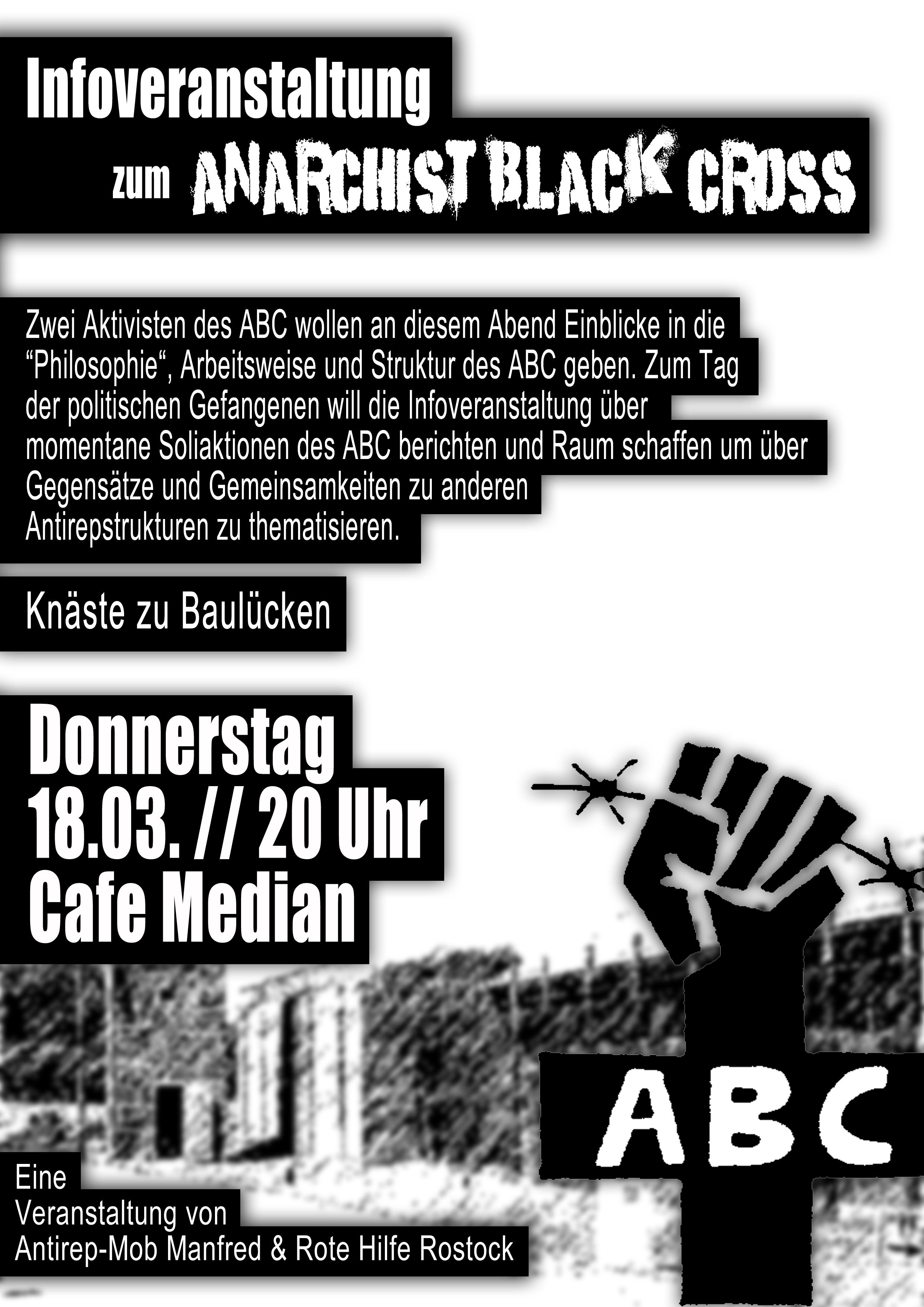 Flyer zur ABC Veranstaltung